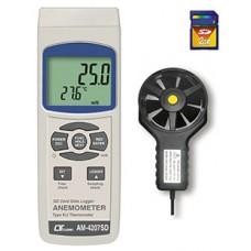 Thiết bị đo tốc độ gió, nhiệt độ  AM-4207SD