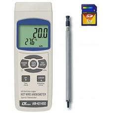Thiết bị đo tốc độ gió, nhiệt độ AM-4214SD