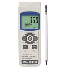 Thiết bị đo tốc độ gió, nhiệt độ AM-4215SD