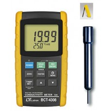 CONDUCTIVITY METER, TDS - Bench type, RS232/USB, Data logger