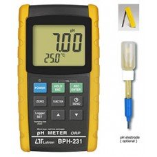 PH METER - Bench type, RS232/USB, Data logger, + ORP