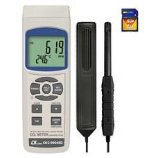 Máy đo nồng độ khí CO2, nhiệt độ, độ ẩm môi trường LUTRON CO2-9904SD