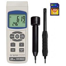 Máy đo nồng độ khí CO, độ ẩm không khí, nhiệt độ môi trường, nhiệt đổ điểm sương COH-9902SD