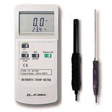 Máy đo nhiệt độ, độ ẩm môi trường, nhiệt độ K  LUTRON HT-3006HA