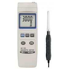 Máy đo điện từ trường nam châm một chiều và xoay chiều LUTRON MG-3002
