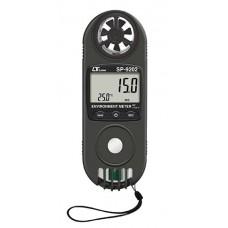 Máy đo gió, tia UV, áp suất, độ cao mực nước biển, nhiệt độ, độ ẩm (11 in 1) LUTRON SP-9202