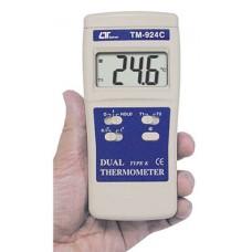 Máy đo nhiệt độ 2 kênh dạng bỏ túi LUTRON TM-924C