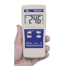 Máy đo nhiệt độ 2 kênh dạng bỏ túi LUTRON TM-924F